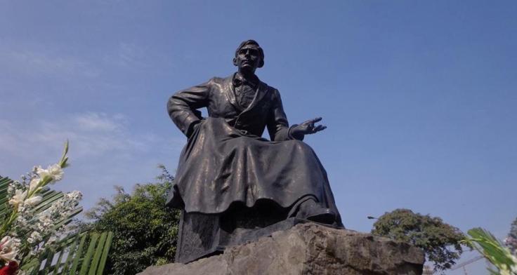mariategui estatua